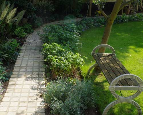 Cottage Garden Project in West London