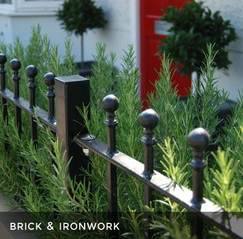 Garden Brickwork & Ironwork
