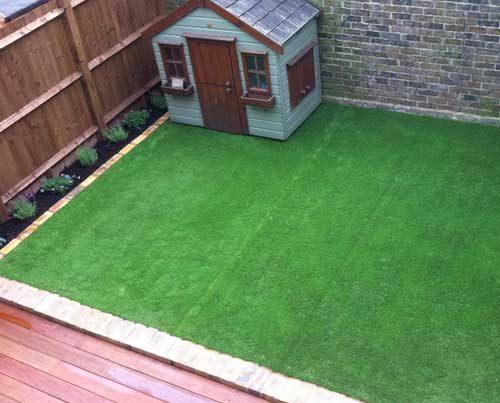 Courtyard Garden Design in West London