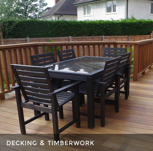 Garden Decking Installation & Timberwork