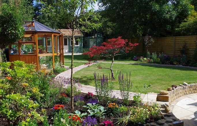 Landscaping services in west london garden landscapers large garden refurb in west london workwithnaturefo
