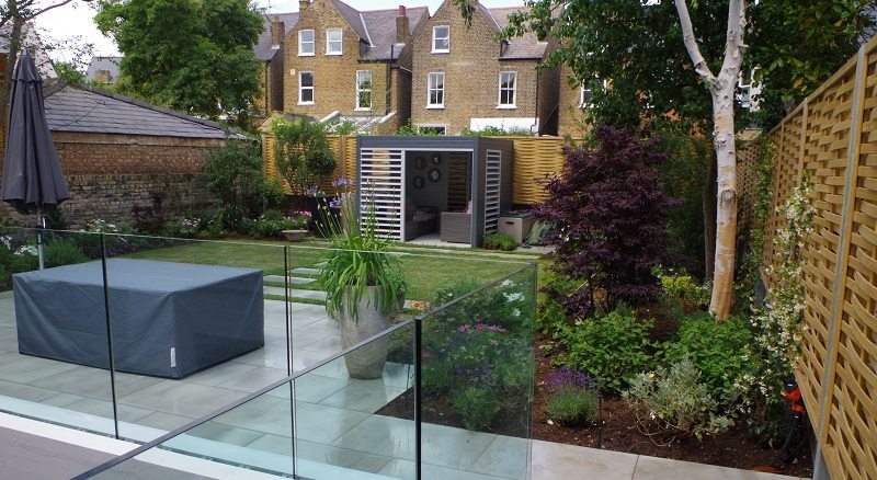 Contemporary Garden Refurb in Chiswick