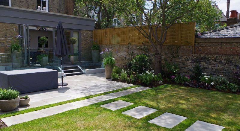 Contemporary Garden Refurb in Chiswick