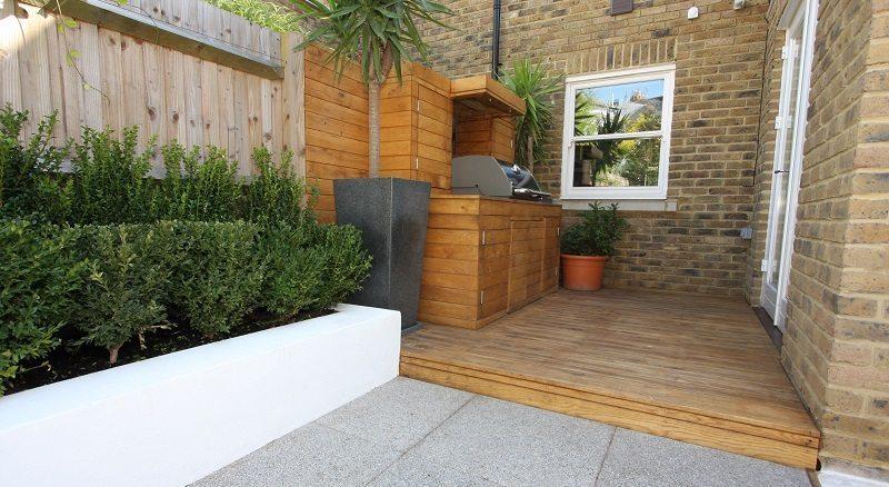 Bespoke garden redesign in barnes west london for Garden redesign